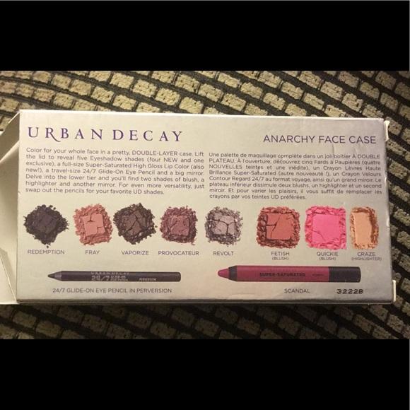 Urban Decay Other - NIB Urban Decay Anarchy Face Case